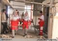 برگزاری مانور زلزله به مناسبت هفته هلالاحمر در دانشگاه علم و هنر