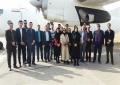 بازدید دانشجویان صنایع و اعضای هیات علمی دانشگاه علم و هنر  از فرودگاه یزد