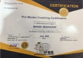 کسب افتخار و دریافت مربیگری حرفه ای (پرومستر) بدنسازی توسط استاد دانشگاه علم و هنر