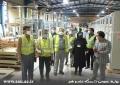 گزارش تصویری بازدید جمعی از اعضای هیئت علمی دانشگاه از شرکت الکترو یزد