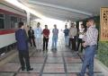 گزارش تصویری بازدید دانشجویان دانشگاه علم و هنر از اداره کل راه آهن یزد