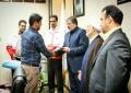کسب عنوان رابط خبری داوطلب فعال و برتر جمعیت هلال احمر یزد توسط عضو کانون دانشجویی هلال احمر دانشگاه علم و هنر