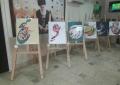گزارش تصویری از نمایشگاه آثار دانشجویان دانشگاه علم و هنر در هفته گرافیک