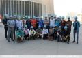 بازدید دانشجویان دانشکده فنی دانشگاه علم و هنر  از نیروگاه حرارتی خورشیدی یزد (سیکل ترکیبی)